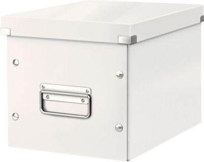 LEITZ® Aufbewahrungsbox Click + Store, für ovale/höhere Gegenstände 260 x 240 x 260 mm, weiß