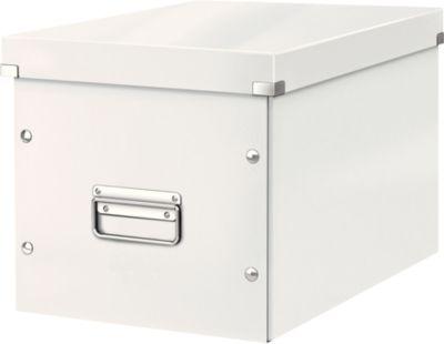 LEITZ® Aufbewahrungsbox Click + Store, für ovale/höhere Gegenstände 320 x 310 x 360 mm, weiß