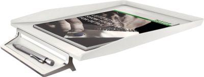 LEITZ® Bac à courrier Style avec porte stylo, blanc articque