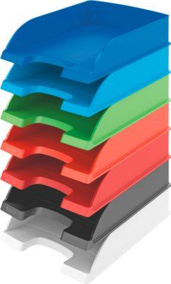 LEITZ® brievenbakken Standard 5227, blauw, 5 stuks