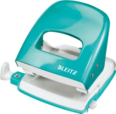 LEITZ® Bürolocher 5008 Wow, metallic-eisblau