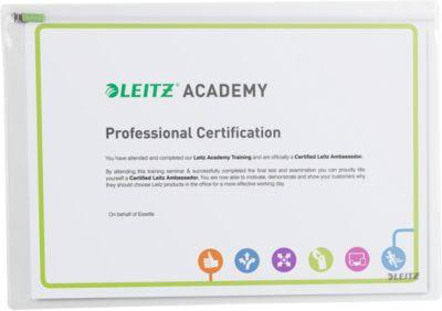 LEITZ® Complete Traveller Zip-Beutel, Modell L, 2 Stück
