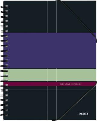 LEITZ® Executivenotitieboek Be Mobile A4, spiraalgebonden met PP kaft, 446400, gelijnd