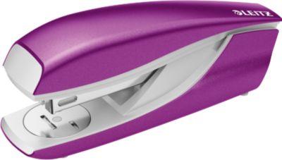 LEITZ® Heftgerät NeXXt Series 5502 WOW, Metall, metallic-violett