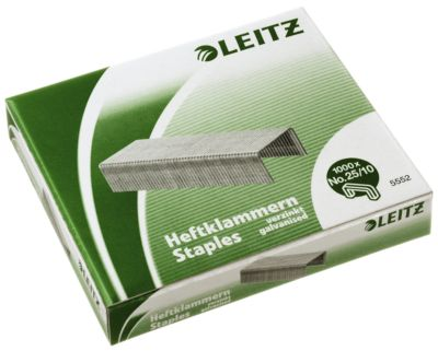 LEITZ® Heftklammern 25/10, 1000 Stück