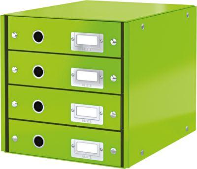 LEITZ® Ladenblok  Click + Store,4 laden, groen