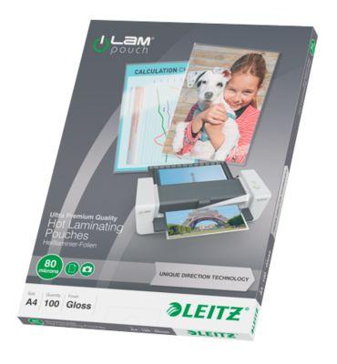 LEITZ® Laminierhoezen iLAM, A4 formaat, 80 micron, 100 stuks