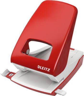 LEITZ® metalen perforator NeXXt Series 5138, rood
