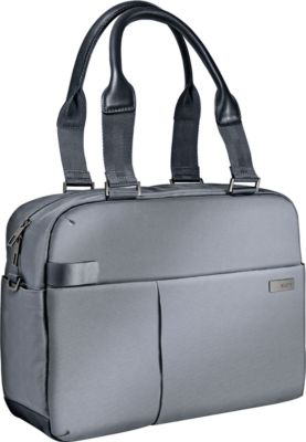 LEITZ® Notebook-Shopper Smart Traveller, f. 13,3 Zoll Laptops, silbergrau