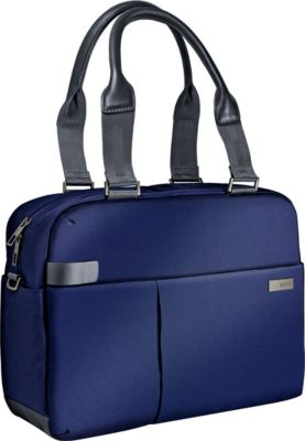 LEITZ® Notebook-Shopper Smart Traveller, f. 13,3 Zoll Laptops, titanblau