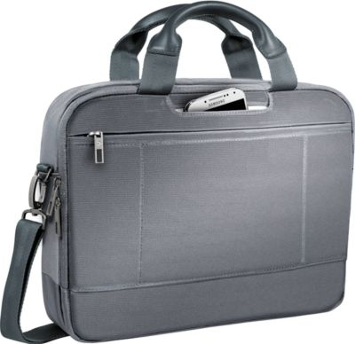 LEITZ® Notebook-Tasche Smart Traveller, f. 13,3 Zoll Laptops, silbergrau