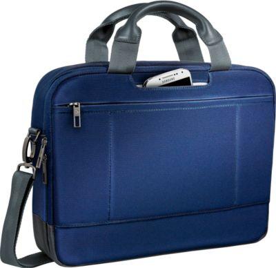 LEITZ® notebooktas Smart Traveller, voor 13,3 inch laptops, titanium blauw