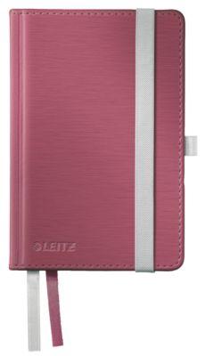 LEITZ® Notitieboek Style 4491, A6 formaat, geruit, granaatrood