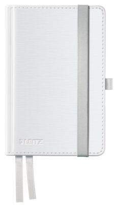 LEITZ Notizbuch Style 4489, Hardcover, DIN A6, liniert, arktikweiß