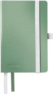 LEITZ Notizbuch Style 4492, DIN A6, liniert, Softcover, seladongrün