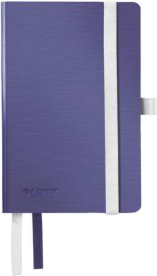 LEITZ Notizbuch Style 4492, DIN A6, liniert, Softcover, titanblau
