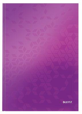 LEITZ Notizbuch WOW 4625, DIN A4, liniert, violett