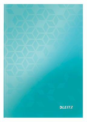 LEITZ Notizbuch WOW 4627, DIN A5, liniert, eisblau
