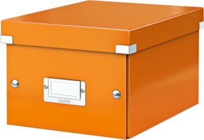 LEITZ® Opberg- en transportbox serie Click & Store, A5, oranje