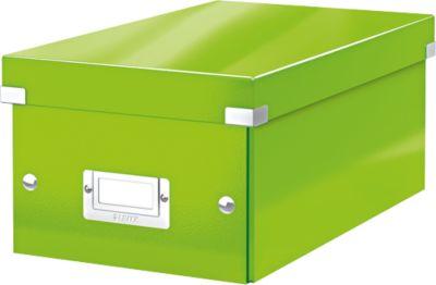 LEITZ Opbergdoos voor DVD Wow Click & Store - groen
