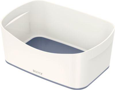 LEITZ® opbergtray MyBox®, A5 formaat, wit/grijs