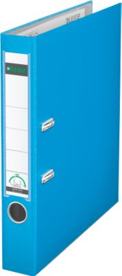 LEITZ® ordner 1015, A4, 52 mm, PP, lichtblauw, stuk
