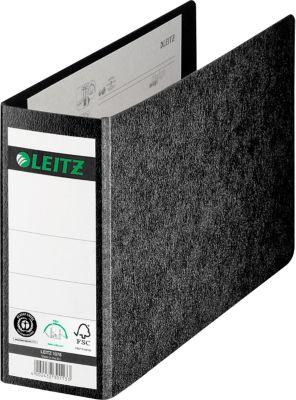LEITZ® Ordner 1076, A5 quer,Rückenbreite 80 mm, Karton