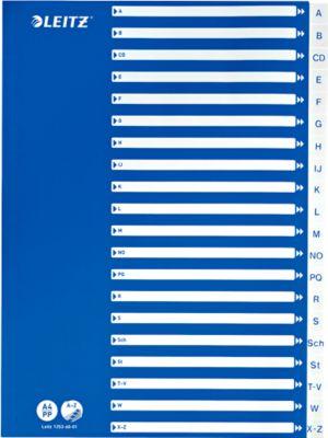 LEITZ® PP-Register mit blauem Deckblatt, Buchstaben A-Z