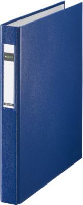 LEITZ® PP ringbanden 4210, met 2 ringen, A4, 40 mm, blauw, per stuk