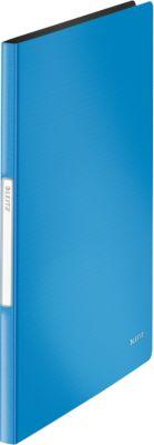 LEITZ® PP showalbum SOLID, voor A4 formaat, 20 insteekhoezen, helder blau