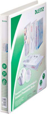 LEITZ® Präsentationsringbuch, DIN A4, 2-Ring-Mechanik, Rückenbreite 37 mm