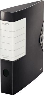 LEITZ® Qualitätsordner SOLID, DIN A4, Rückenbreite 62 mm, schwarz