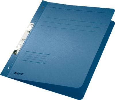 LEITZ® Schlitzhefter, DIN A4, 80 mm Schlitz, blau