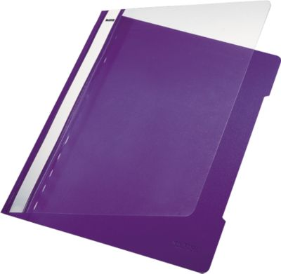 LEITZ® Schnellhefter 4191, DIN A4, PVC, 25 Stück, violett
