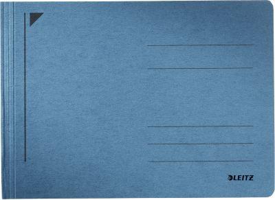 LEITZ® Schnellhefter Rapid, für DIN A5 quer, Karton, blau
