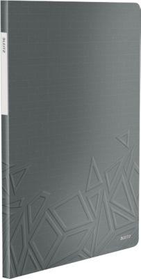 LEITZ Sichtbuch Urban Chic, für DIN A4, 20 Hüllen, dunkelgrün