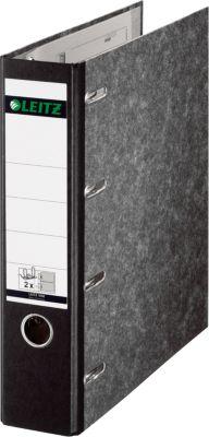 LEITZ® Wolkenmarmor-Doppelordner 1092, A4, 75 mm, Wolkenmarmor