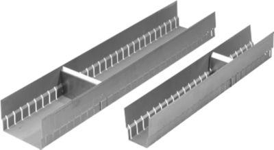 Lengtegoot voor ladeverdeling, l 456 x b 118 mm
