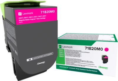 Lexmark 71B20M0 Tonerkassette magenta