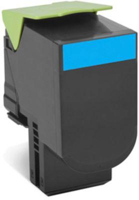 Lexmark 80C2HC0 Tonerkassette cyan