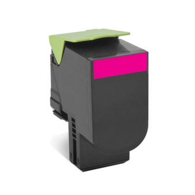 Lexmark 80C2HM0 Tonerkassette magenta