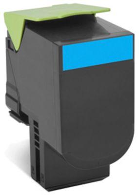 Lexmark 80C2SC Tonerkassette cyan