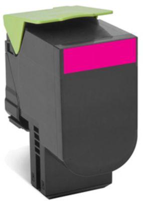 Lexmark 80C2SM Tonerkassette magenta
