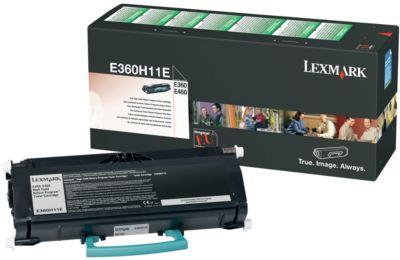 Lexmark E360H11E Tonerkassette schwarz