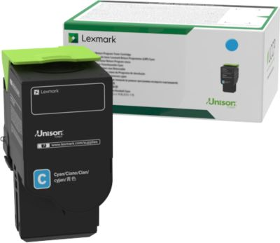 Lexmark Tonerkassette C242XC0 cyan, 3500 Seiten