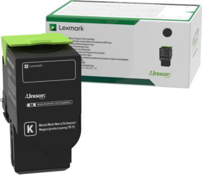 Lexmark Tonerkassette C242XK0 schwarz, 6000 Seiten
