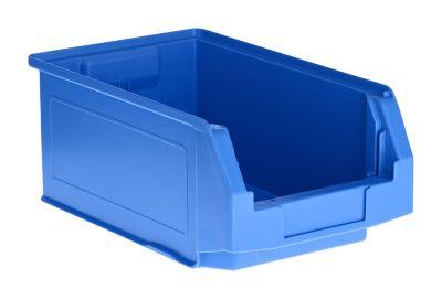LF 321 magazijnbak, polypropeen, L 343 x B 209 x H 145 mm, 7,5 liter, blauw