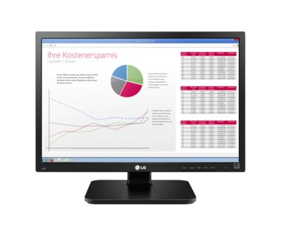 LG Business Monitor 22BK55WD-B, schwarz