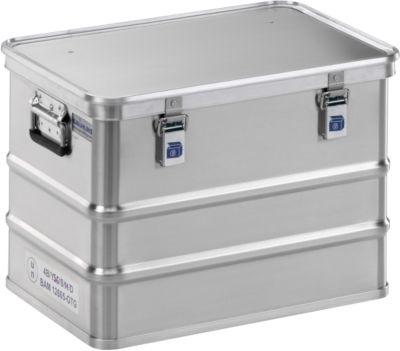 Lichtmetalen kist voor gevaarlijke stoffen, GGVS-vergunning, 73 liter