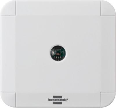 Lichtsensor Brennenstuhl, Smart Home, Reichweite 100 m, App-Steuerung, für Innen & Außen, IP44